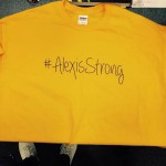 Photo of #AlexisStrong t-shirt