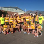 Photo of Kearns High cross country runners