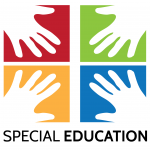 Special Education joined hands logo