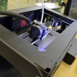 Photo of 3D printer at Granger High