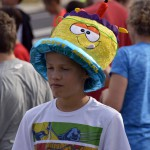 Photo of Churchill Jr High student wearing hat