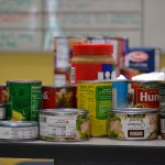 Photo of canned items for Utah Food Bank