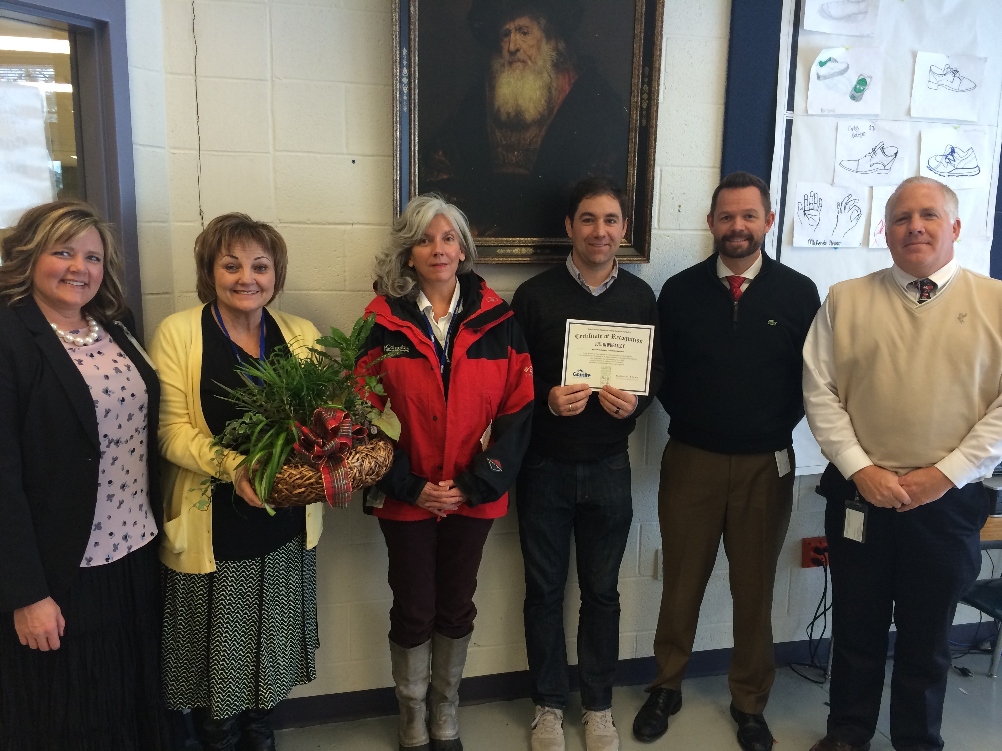 Five More Gsd Teachers Receive National Board Certification