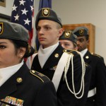 Photo of Taylorsville High JROTC members