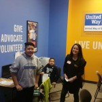 Photo of students and volunteer at Junior Achievement City