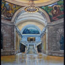 Photo of winning entry in Utah Senate Visual Arts Competition