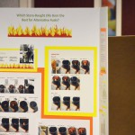Photo of science fair project display