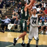 Photo of Kearns and Olympus basketball players