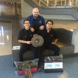 Photo of SkillsUSA competition winners from Granger High