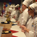 Photo of Future Chefs participants awaiting judging