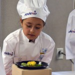 Photo of Future Chefs participant with entry