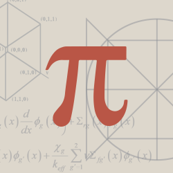 Photo illustration of math equations and symbols