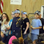 Photo of Oquirrh Hills students dressed as book characters