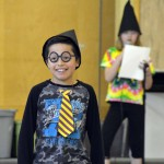 Photo of Oquirrh Hills student dressed as book character