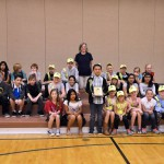 Photo of Whittier Elementary safety patrol members