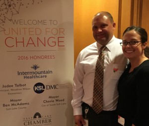 Woodrow Wilson Principal Receives United Way Changemaker