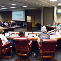 Board of education hearing presentation from Skyline Network principals.