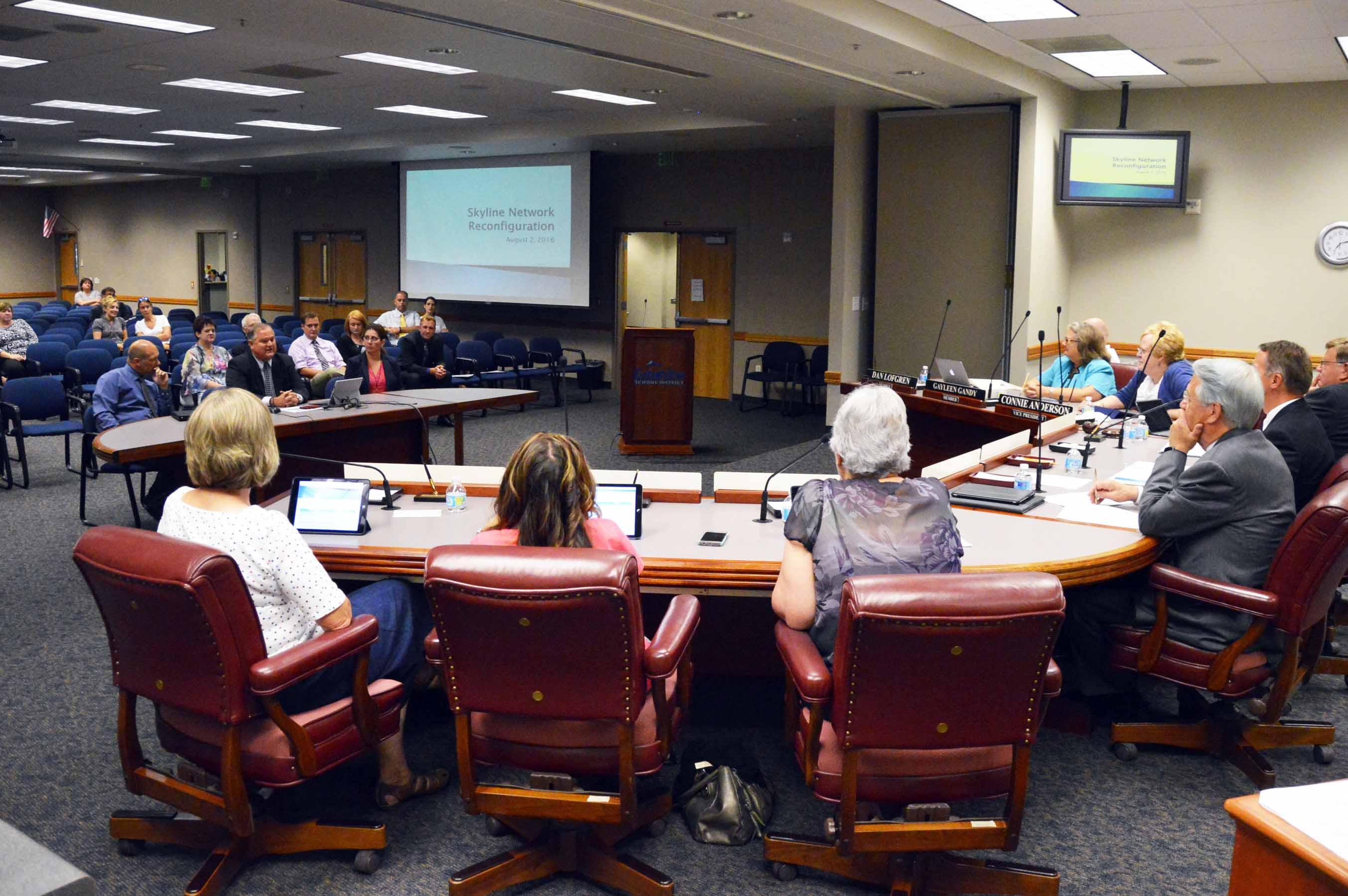 Board Meeting Report August 2016
