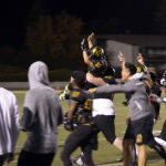 Cottonwood High student lifted on shoulders of football players