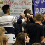 Hunter High student body officer collects funds from students
