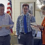 Administrators accept award for assistant superintendent