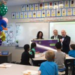 Teacher receives Excel Award in classroom