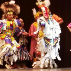 Eagle View students performing dance on stage