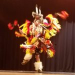 Eagle View student performs dance on stage
