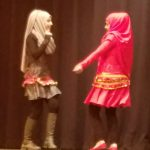 Granite Park students perform dance on stage