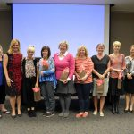 State PTA winners lined up for photo