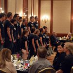 Taylorsville High madrigals sing at 25 Year dinner celebration