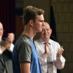 Bennion Jr High student receives ovation