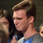 Bennion Jr High student thanking peers