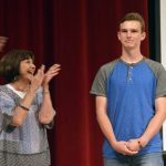 Bennion Jr High teachers applaud Absolutely Incredible Kid recipient