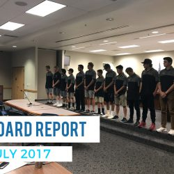 Board Report – July 2017