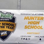 Hunter High School of the Year banner