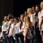 Olympus High students perform a song number