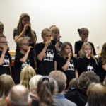 Rosecrest students perform during board meeting