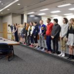 Individual state champion athletes recognized at board meeting