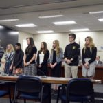 Academic all-state athletes recognized at board meeting