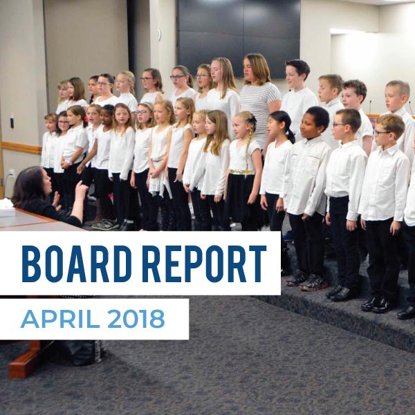 Board Report – April 2018