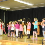 Eastwood students perform a cultural dance