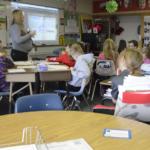 Cottonwood Elementary classroom