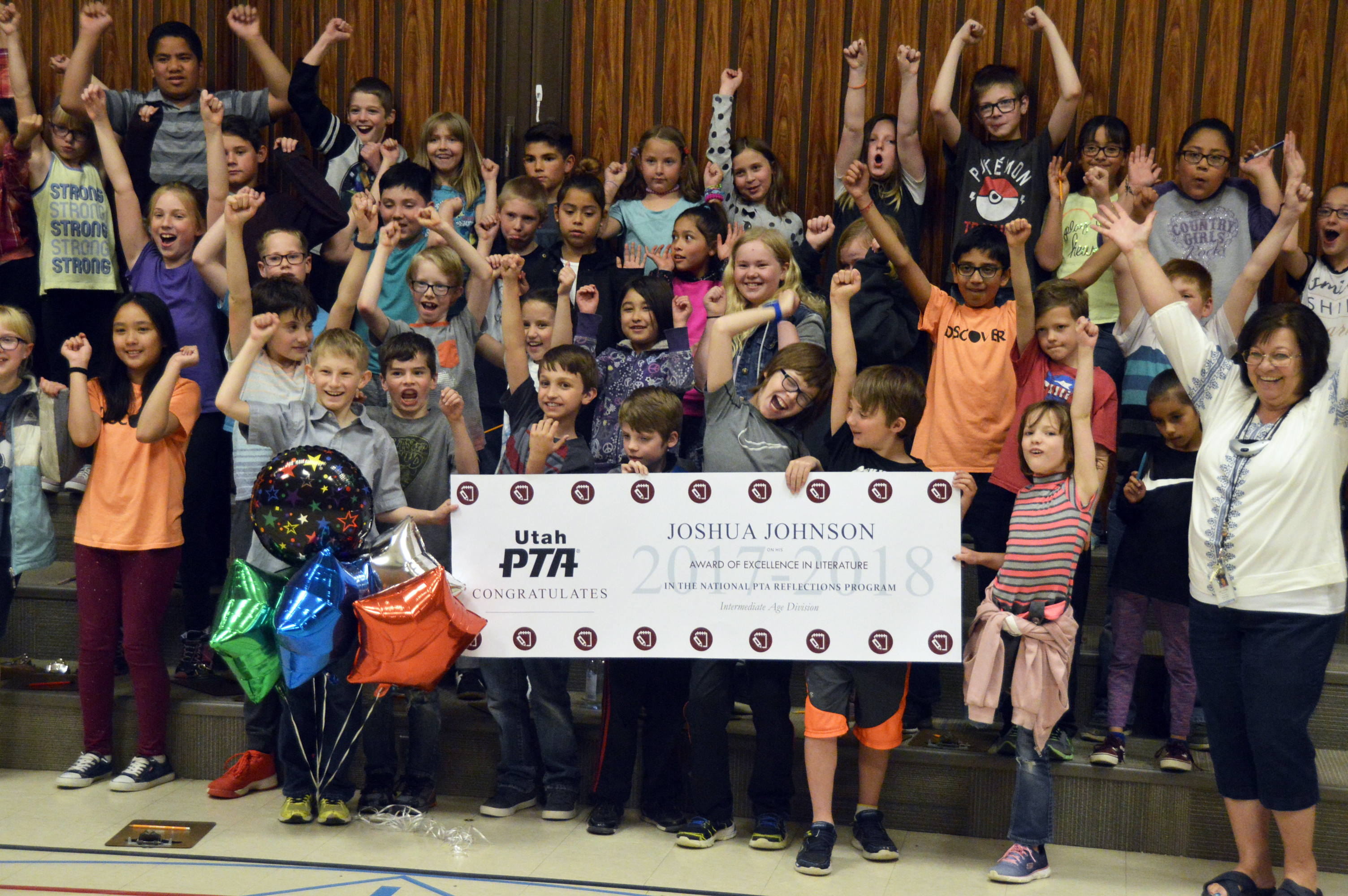 Fox Hills student receives national PTA award