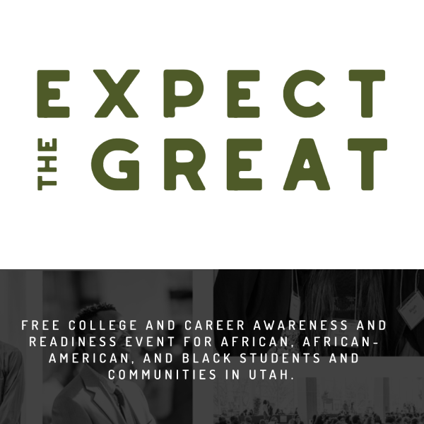 Text: Expect the Great