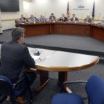 Doug Larson addresses board of education