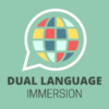 World language icon and text 'Dual Language Immersion'