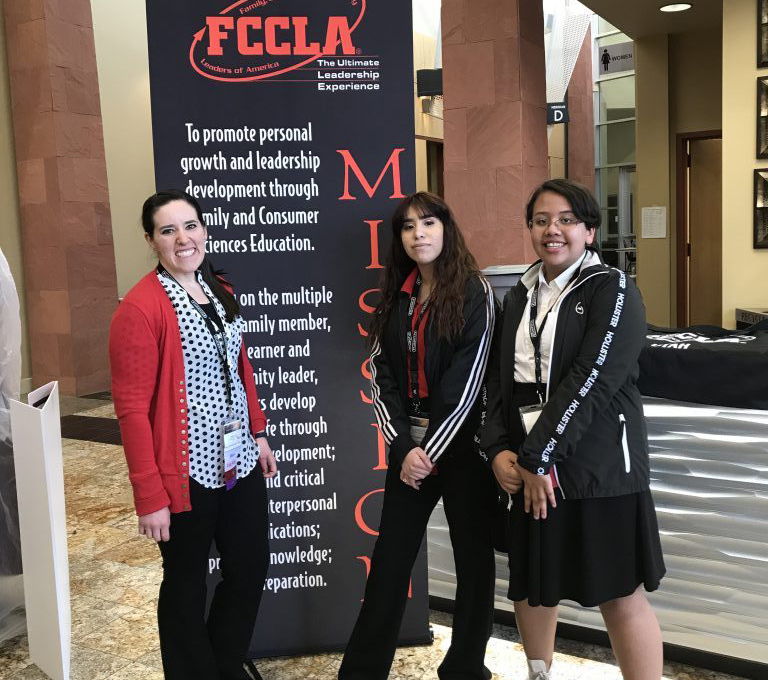 Cyprus High FCCLA members