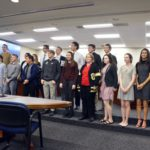 Academic All State athletes recognized during board meeting