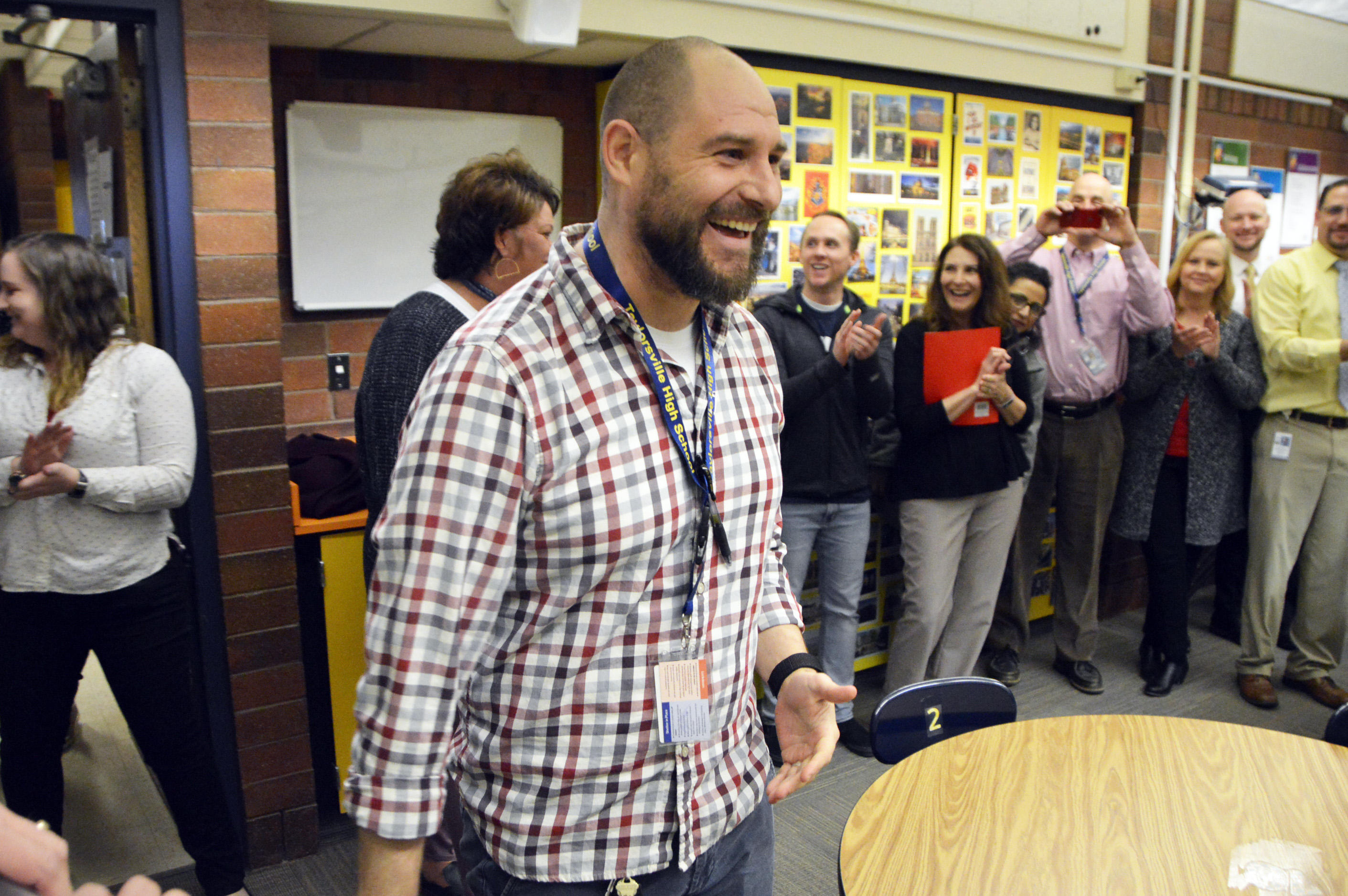 Taylorsville High teacher recognized as Excel Award winner in classroom